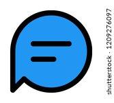 communication chat bubble   Shutterstock .eps vector #1209276097