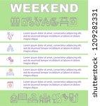 weekend activities mobile app...