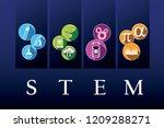 stem   science  technology ... | Shutterstock .eps vector #1209288271