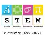 stem   science  technology ... | Shutterstock .eps vector #1209288274