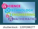 stem   science  technology ... | Shutterstock .eps vector #1209288277