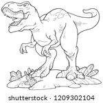 A Tyrannosaurus Rex Outline...