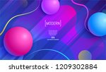 trendy abstract background .... | Shutterstock .eps vector #1209302884