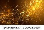 3d render festive background.... | Shutterstock . vector #1209353404