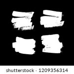 paint drawing set of white... | Shutterstock .eps vector #1209356314