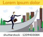 vector concept illustration for ... | Shutterstock .eps vector #1209403084