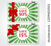 discount coupon  voucher vector.... | Shutterstock .eps vector #1209403501