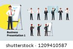 professional looking business... | Shutterstock .eps vector #1209410587