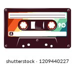 Cassette Tape Retro Vintage...