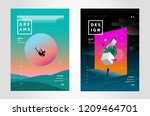future  illusions and dreams.... | Shutterstock .eps vector #1209464701