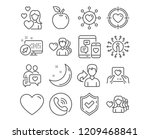 set of love  valentine target... | Shutterstock .eps vector #1209468841