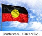 national flag of australian... | Shutterstock . vector #1209479764