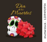 day of the dead celebration | Shutterstock .eps vector #1209493954