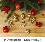 new year's eve. new year's... | Shutterstock . vector #1209495634