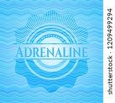 adrenaline light blue water... | Shutterstock .eps vector #1209499294