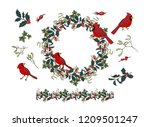 Wreath And Holly And Mistletoe...