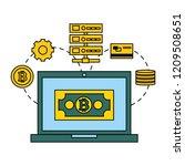 fin tech business   Shutterstock .eps vector #1209508651