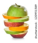 fruits. | Shutterstock . vector #120951589