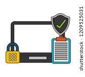 fin tech business   Shutterstock .eps vector #1209525031