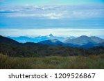 the view of the adam's peak... | Shutterstock . vector #1209526867