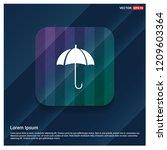 umbrella icon   free vector icon