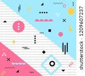 abstract background  modern... | Shutterstock .eps vector #1209607237