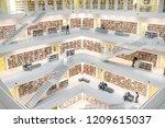 stuttgart  germany   august 10  ... | Shutterstock . vector #1209615037