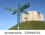Tourist Directional Sign In...