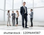 bottom view.confident... | Shutterstock . vector #1209644587