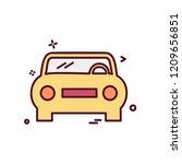 car icon design vector | Shutterstock .eps vector #1209656851