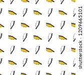 lightning seamless pattern... | Shutterstock .eps vector #1209665101
