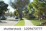 defocused view of pretty... | Shutterstock . vector #1209673777