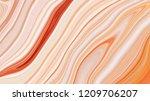marble ink colorful. orange... | Shutterstock . vector #1209706207