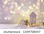 Little House Candle Holder Xmas ...