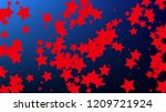 usa independence day. colors of ...   Shutterstock .eps vector #1209721924