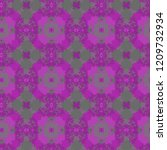 seamless pattern with colored... | Shutterstock . vector #1209732934
