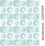patterned background of shiny...   Shutterstock . vector #12097429