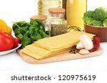 vegetarian lasagna ingredients...