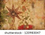 Christmas Background Vintage...