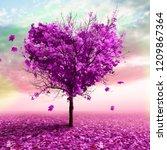 3d Illustration   Autumn Tree...