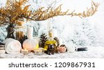 close up of beauty and fashion...   Shutterstock . vector #1209867931