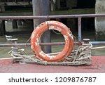 Old Lifebuoy Or Safety Torus...