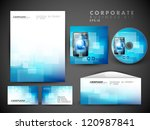 professional corporate identity ... | Shutterstock .eps vector #120987841