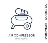 air compressor icon. air... | Shutterstock .eps vector #1209888127