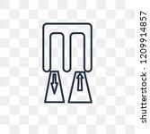 passenger passway vector... | Shutterstock .eps vector #1209914857