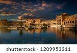 plaza de espanha before down.... | Shutterstock . vector #1209953311