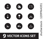hook icon. collection of 9 hook ... | Shutterstock .eps vector #1209964351