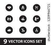 toddler icon. collection of 9...   Shutterstock .eps vector #1209966721