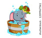 vector illustration of an...   Shutterstock .eps vector #1209967561