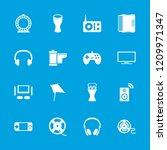 entertainment icon. collection... | Shutterstock .eps vector #1209971347